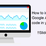 How to integrate google analytics code in your website