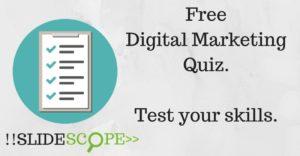 Free Digital Marketing Quiz to test your skills.