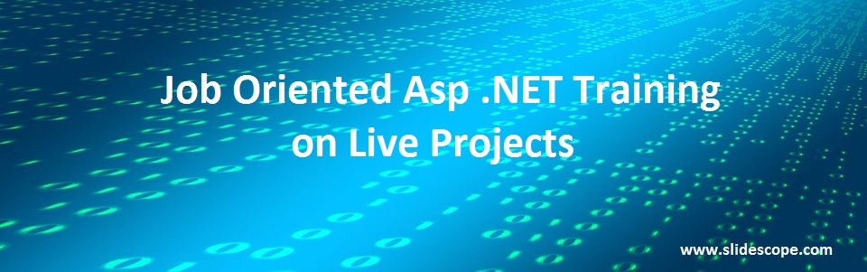 Job Oriented Training Asp .Net
