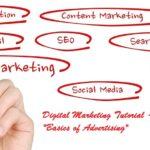Basics of Advertising – Digital Marketing Lesson 1