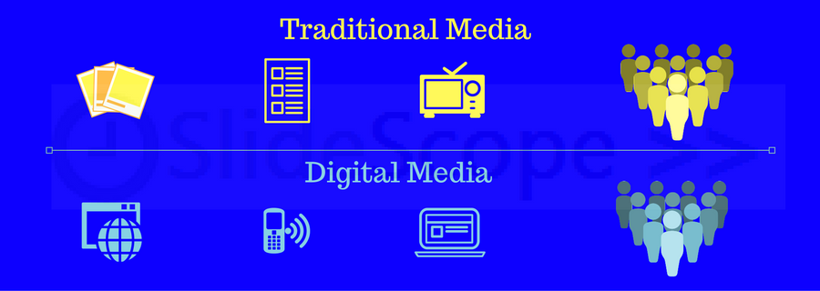 Traditional Media Vs Digital Media