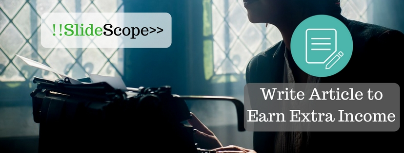 Earn Online by Writing Articles