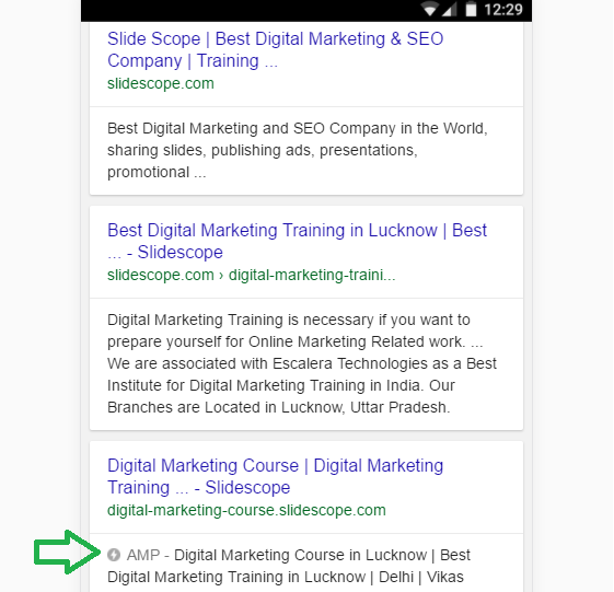 How to get amp logo on search result