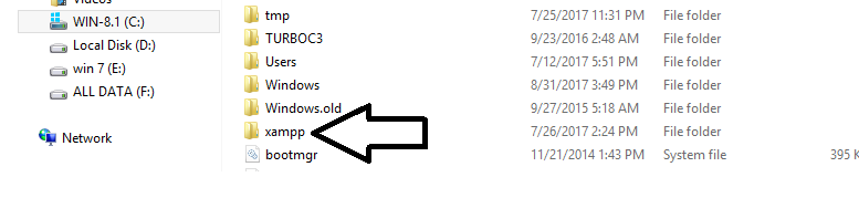 xampp-folder