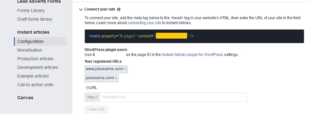 fb-page-id-setting-in-instant-articles-setup