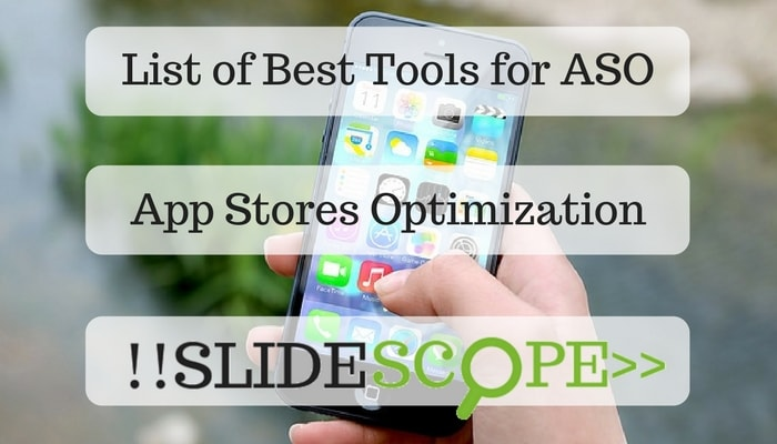 List of Best Tools for ASO