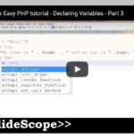 Variables in PHP – Core PHP Tutorial Chapter 4