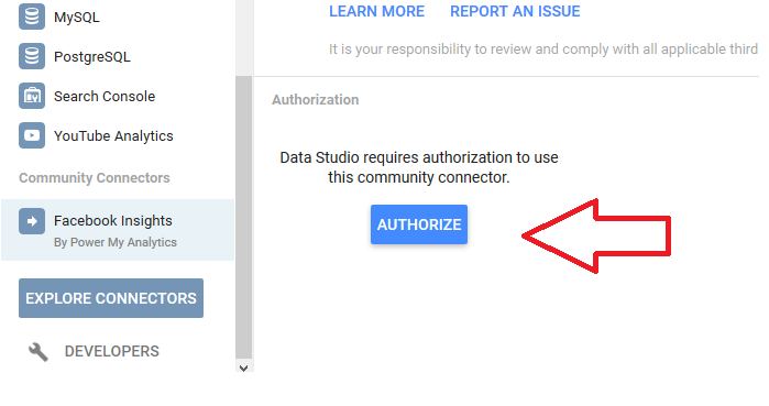 google-data-cloud-to-facebook-insights-authorize