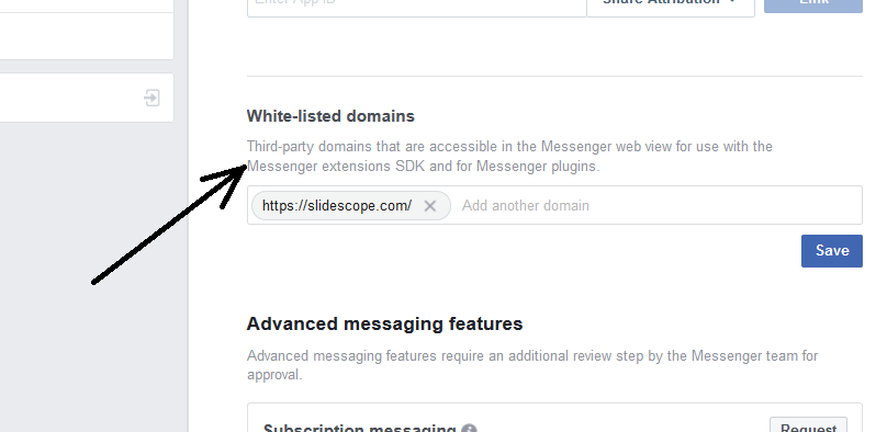 messenger-chat-plugin-for-webssite-how-to-whitelist