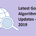 Latest Google Algorithm Updates - January 2019